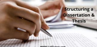 Thesis, Dissertation